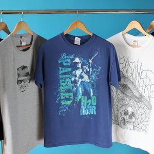 Official 2011 Brad Paisley H20 Tour Band T-Shirt